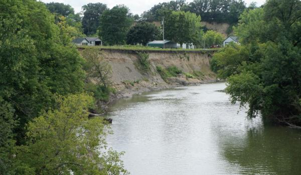 Hawk Creek Erosion