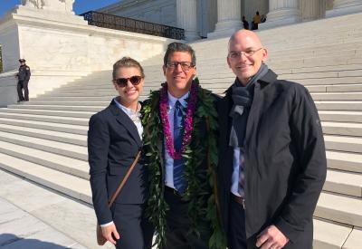 MCEA and EarthJustice lawyers at U.S. Supreme Court