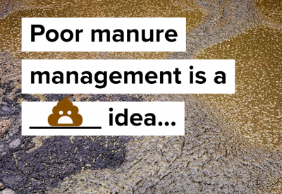 Bad manure management is crappy
