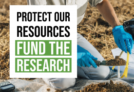 protect our resources fund the research